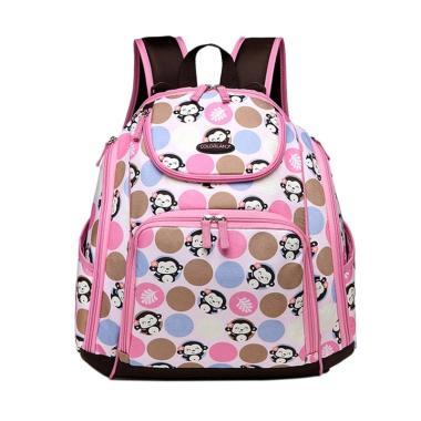 Colorland Backpack Baby Tas Popok Bayi - Pink