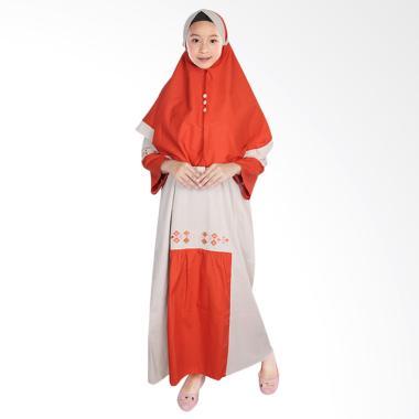 FAYRANY FGW-009B Baju Gamis Anak - Bata