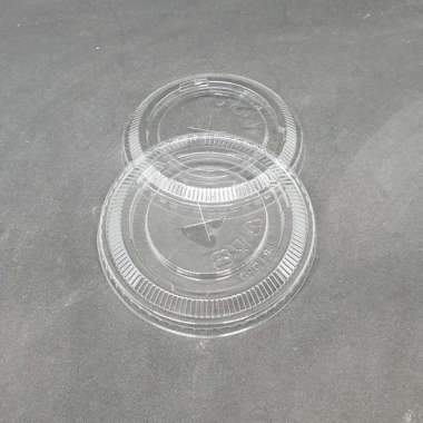 harga New Tutup Datar  Flat Gelas Plastik  PET Cup 16 oz  22 oz - 22 oz Limited Blibli.com