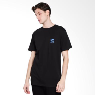 Billabong Free 73 T-Shirt Pria - Black 21f9792454