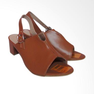 Phe Orange Sepatu Sandal Wanita - Coklat
