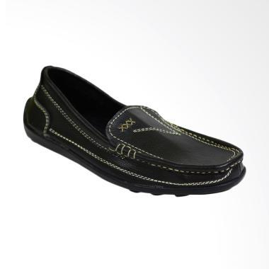 Crocodile Leather Sepatu Slip On Pria [R22]