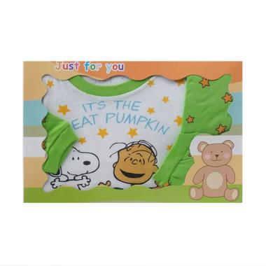 MOMO Pumpkin Gift Set Pakaian Bayi Laki-laki - Hijau