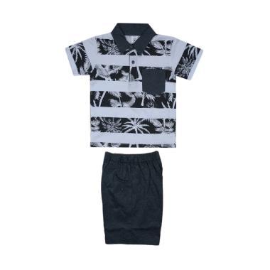 MacBear Palm Beach Setelan Baju Polo Anak