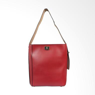Bellezza 616091-01 Woman Shoulder Bag - Red Wine