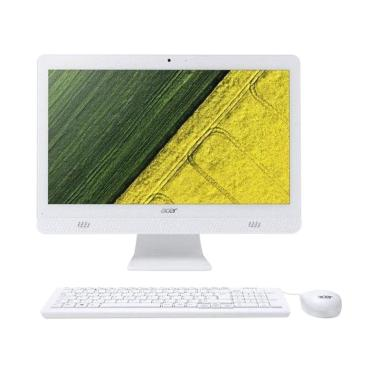 Acer AIO AC20-720 Desktop PC - Puti ... in 10 Home] GARANSI RESMI