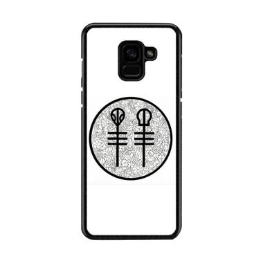 Acc Hp twenty one pilots floral pie ... asing for Samsung A8 2018