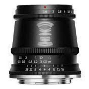 Gudang Digital - TTartisan 17mm f1.4 Fujifilm FX TT Artisan 17mm f/1.5 GARANSI RESMI Black