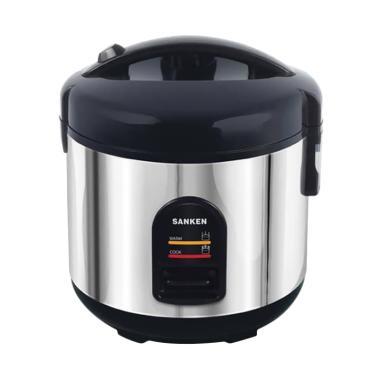 Sanken SJ-130H Rice Cooker - Black [1 L]