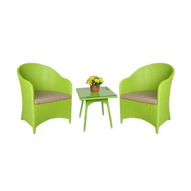 Arthur Teras Set Kursi - Green