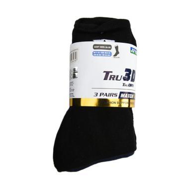 YONEX Men Match Plus Socks Kaos Kak ... te [3 Pairs/SKSMP1855SZ3]