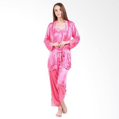 You've Kimono Set Shali 999103 Piyama Wanita - Pink