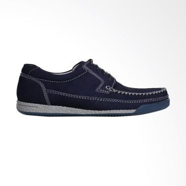Cavallero Men's Santo Casual Sepatu Pria - Navy [CCL58405A18]
