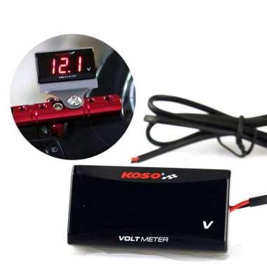 harga 【Original】KOSO Voltmeter Motor Aksesoris Voltmeter 10-150V Instrumen Tampilan Elektronik Yang Dimodifikasi Blibli.com