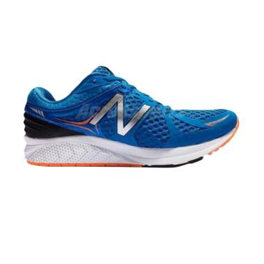 New Balance Men Running Wide Sepatu ... - Blue Silver [MPRSMHS2E]