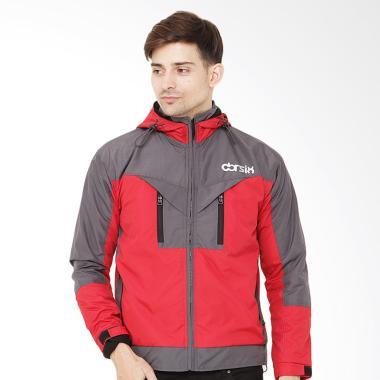 CBR Six Jaket Pria - Merah Kom [HGC 603]