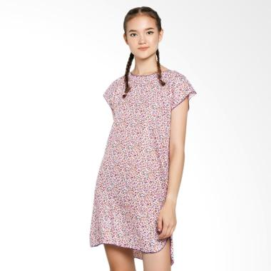 Batik Alhadi BPT002-130D Midi Dress Baju Tidur Daster