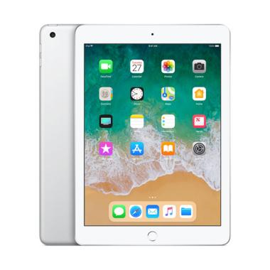 Apple New iPad 2018 128 GB Tablet - Silver [9.7 Inch/ Wifi + Cellular]