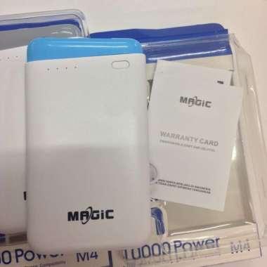 harga Unik Powerbank MAGIC M4 10000 mah - Abu-abu Berkualitas Blibli.com