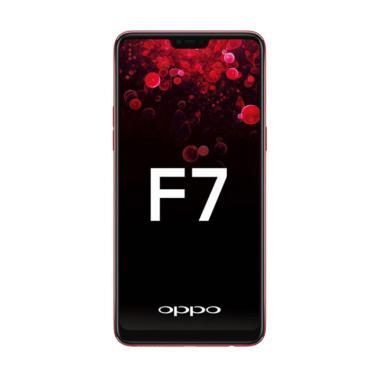 oppo f7 (solar red, 64 gb)