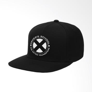 IndoClothing Xman Xaviers School Topi Snapback - Hitam