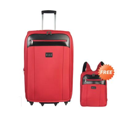 Elle 7206325-42 Tas Koper - Red [25 inch] + Free Backpack Unisex