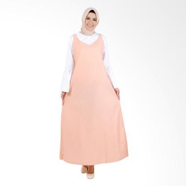 Jfashion Kimiko Setelan Blouse Tang ...  Long Dress - Salem Putih