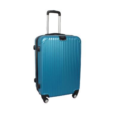 Real Polo GGEJ Hardcase Fiber Tas Koper - Biru [Size 28 Inch]