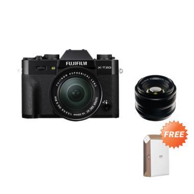 Fujifilm XT20 / X-T20 kit 16-50mm O ...  F/1.4 R    GARANSI RESMI