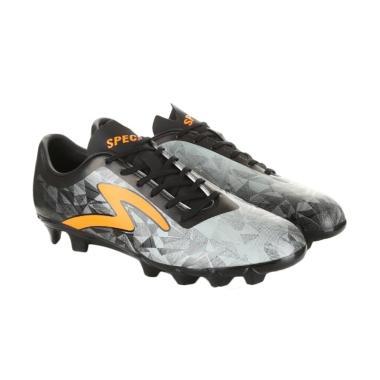 Specs Swervo Dynamite FG Sepatu Sepakbola - Grey [Original/ 100788]