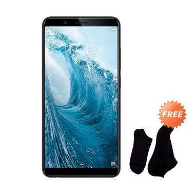 VIVO Y71 Smartphone - Black [32 GB/ 3 GB] + Free Kaos Kaki 7 Pasang