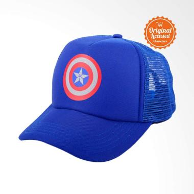 Marvel Avengers Infinity War Captain America Trucker Cap Topi Dewasa 911d81966e