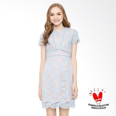 Rimini 822 Dress Wanita - Blue
