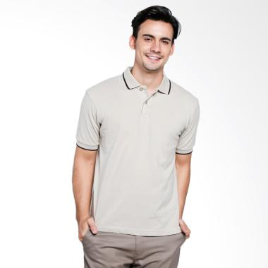 Red Cliff Wangky Polo Shirt Pria - Cream [ZD1016JG]