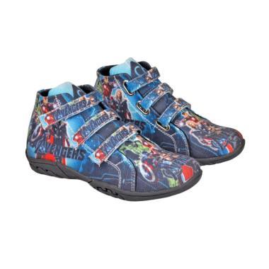 Recommended 354 Sepatu Sneakers Anak Laki-laki - Biru