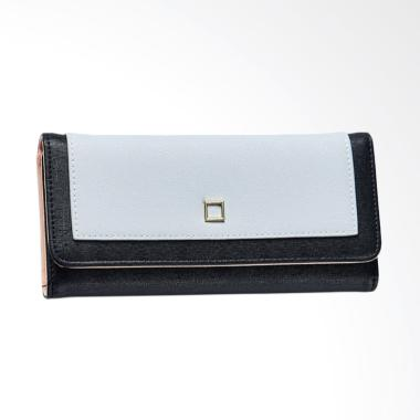 Aamour Squary Wallet Dompet Wanita - Black