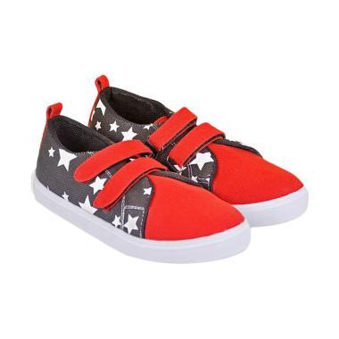 Recommended 359RCM Sepatu Sneakers Anak Laki-laki - Hitam