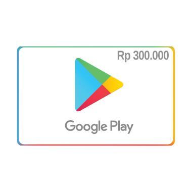 harga Google Play E-Voucher [Rp. 300.000] Blibli.com