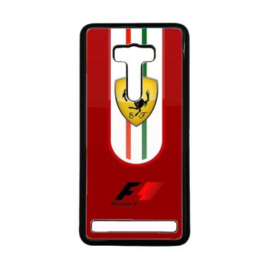 CATLECASE Ferrari Red F1 X4918 Custom Casing For Asus Zenfone 2 Laser 5 Inch