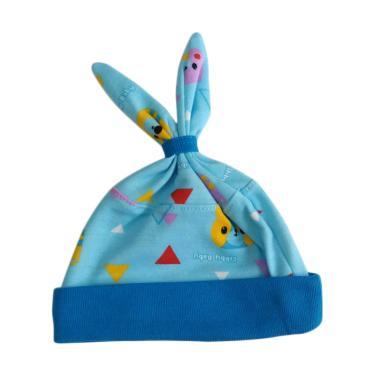 Libby MOMO Animal Topi Bayi - Biru