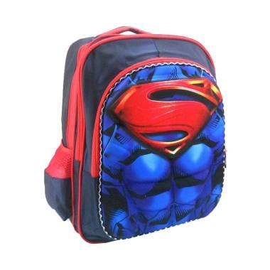 DJ Fashion 0612 3D Backpack Tas Sekolah Anak Laki Laki [16 Inch/SD]