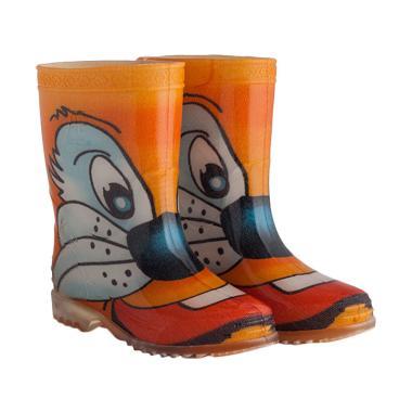 AP BOOTS Safary Tommy Tiger Sepatu Boots Anak Unisex - Orange