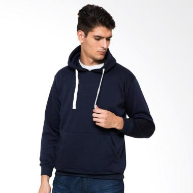 DEcTionS Sweater Jumper Hoodie Distro Polos Jaket Pria - Navy
