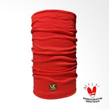 harga Kupluku Face Shield Neck Warmer Mask Snoods Bandana - Merah Blibli.com