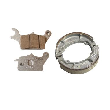 AHM Honda Genuine Parts Disc Pad Kampas Rem Motor for Honda Vario Techno 110 [Depan Belakang]