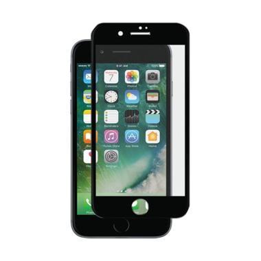 Grace Premium Tempered glass Screen Protector for Apple iPhone 7 Plus or 7s Plus - Lis Hitam [Full Screen/ Full Glue 2018]