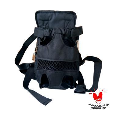 Onil Tas Gendongan untuk Hewan Peliharaan - Black [Size L]