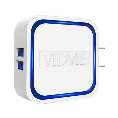 VIDVIE PLM302 S Charger - Putih [2 USB Port]