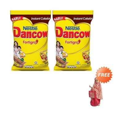 Buy 2 Nestle Dancow Fortigro Cokela ... g] + Free Mukena Anak (C)