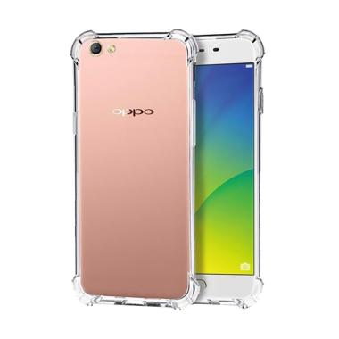LOLLYPOP Anti Crack ShockProof TPU Jelly Silicone Softcase Backcase Casing for OPPO Neo 7 - Clear
